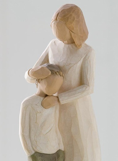 Mother and Son (Anne ve Oğul)-Willow Tree